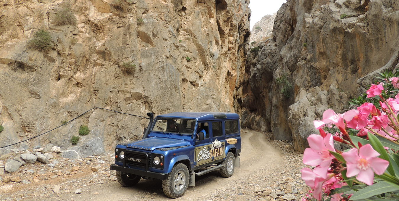 Jeep Safari on Crete